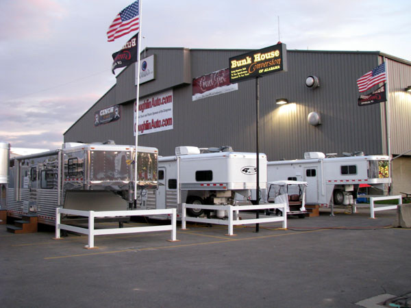 See Bunkhouse Conversion Trailers